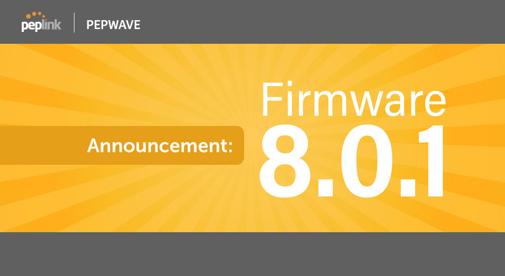 Firmwave 8.0.1 is Now Available!